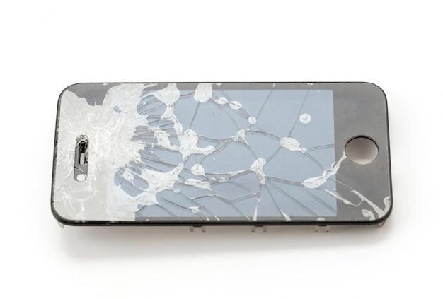 Gebroken mobiel scherm