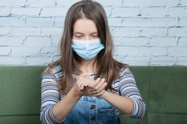 Gebruik van initiële preventieve technieken tegen covid
