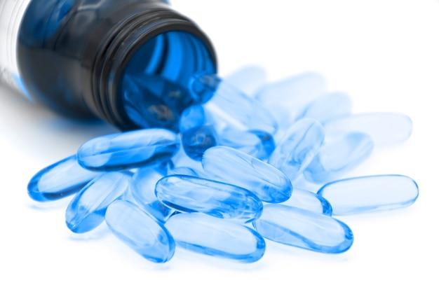 Gebruik van zachte gelatinecapsules in de farmaceutische industrie voor olieachtige geneesmiddelen.