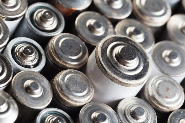 Gebruikte batterijen