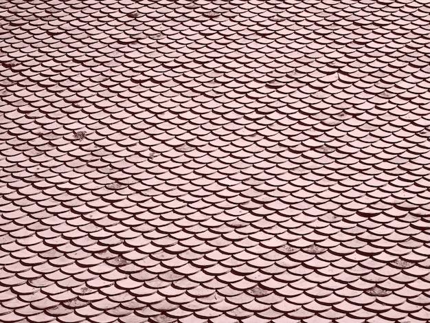 Gedessineerde dakpannen