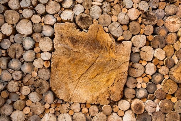 Gedessineerde oppervlak van het hout voor de achtergrond.
