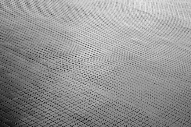 Gedessineerde straat tegels, keramische bakstenen vloer achtergrond