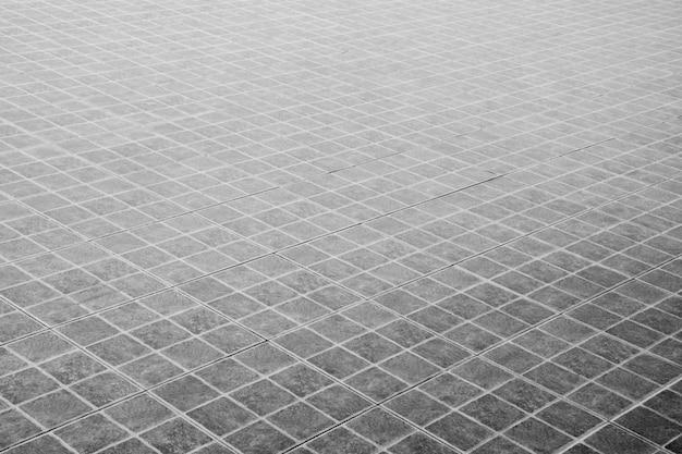 Gedessineerde straatstenen, keramische bakstenen vloer