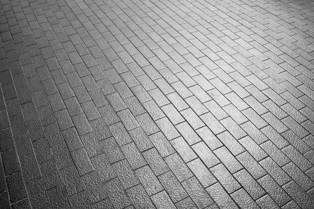 Gedessineerde straatstenen