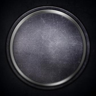 Gedetailleerd abstract metallic met krassen en vlekken
