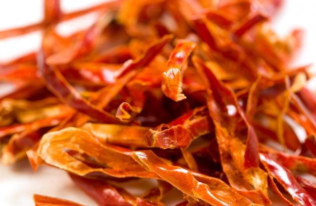 Gedetailleerde pittige chili