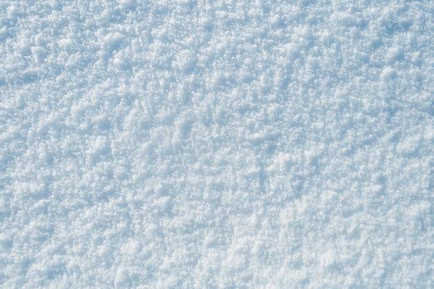 Gedetailleerde schone witte sneeuwachtergrond