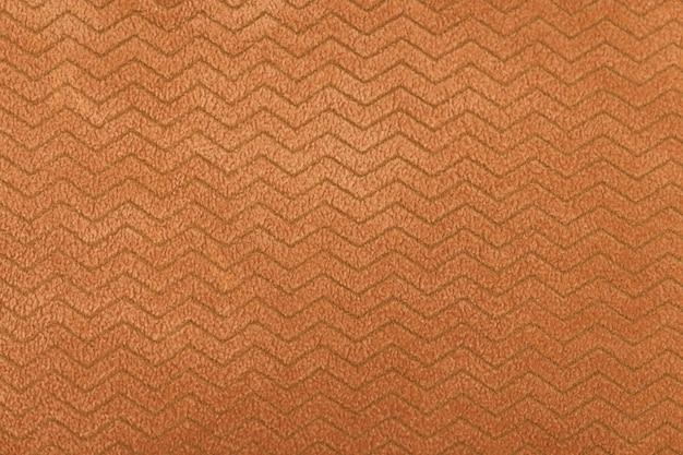 Gedetailleerde textiel oranje stof textuur