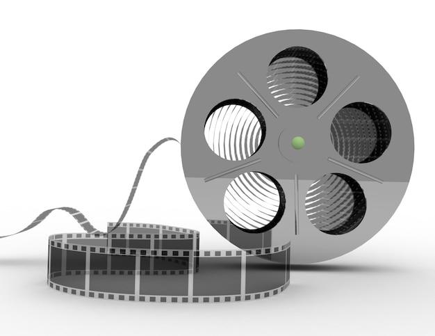 Gedraaide film voor film