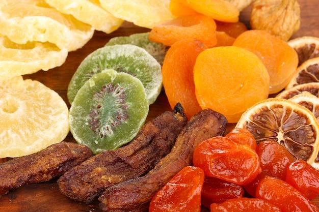 Gedroogd fruit close-up