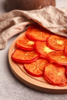 Gedroogd fruit plakjes