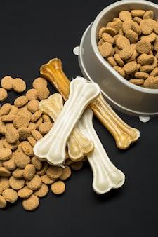 Gedroogd voer voor honden of katten