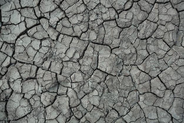 Gedroogde aarde als gevolg van klimaatverandering gevolgen voor de opwarming van de aarde