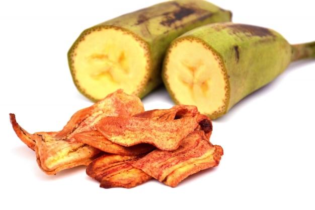 Gedroogde bananentaart