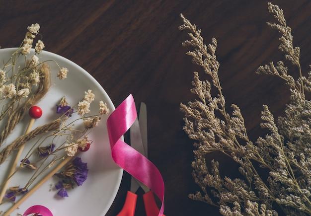 Gedroogde bloem voor handwerk
