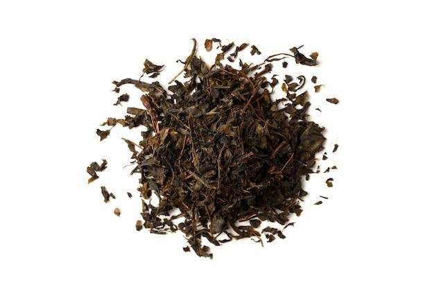 Gedroogde ivan thee geïsoleerd op wit.