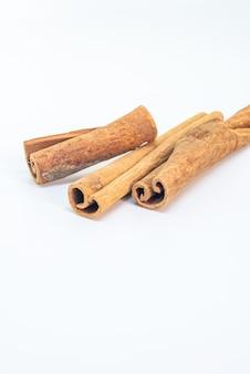 Gedroogde kaneel cassia stick blaft kookingrediënt