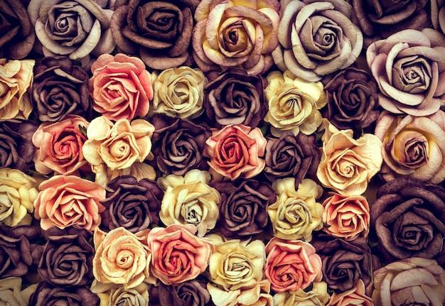 Gedroogde rozen