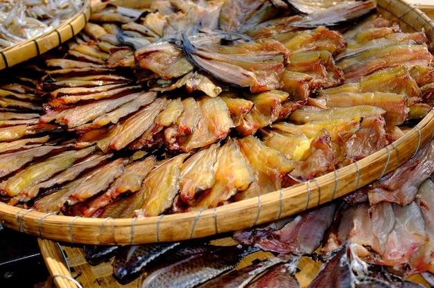 Gedroogde vis - gezouten vis