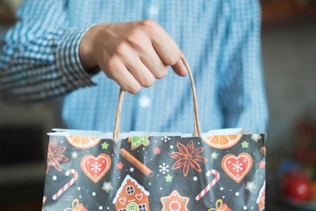 Geef het nieuwe jaar git present-pakket