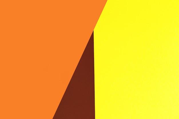 Geel, bruin en oranje. kleurrijk