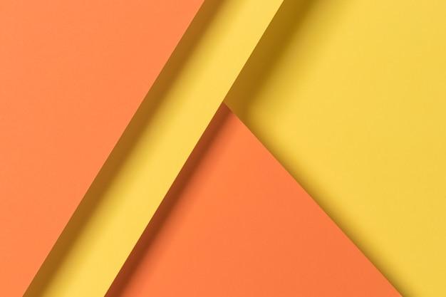 Geel en oranje kasten