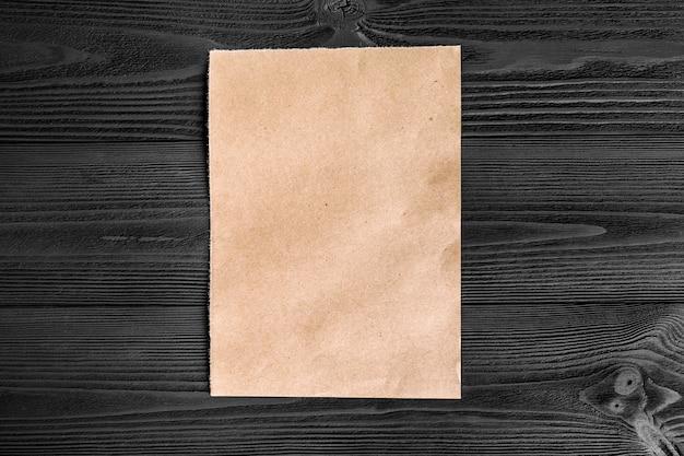 Geel kraftpapier