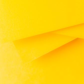 Geel papier achtergrond in minimalistische stijl