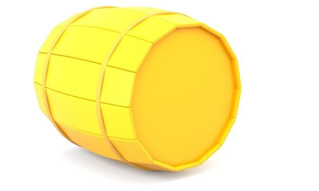 Geel vat
