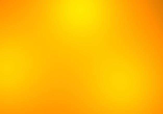 Geeloranje achtergrond helder licht abstracte textuur vers. gradiëntillustratie, reclame