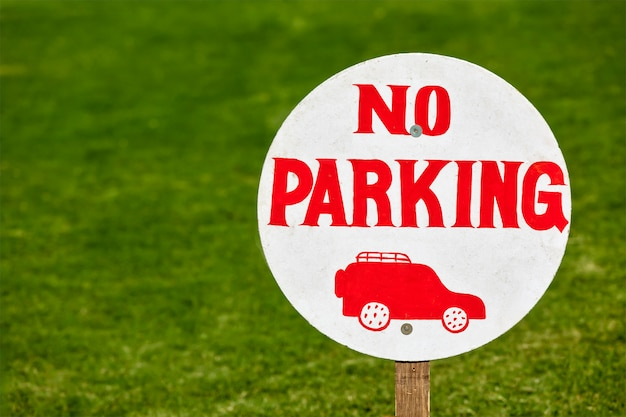 Geen parkeerbord
