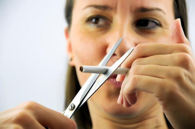 Geen sigaretten meer!