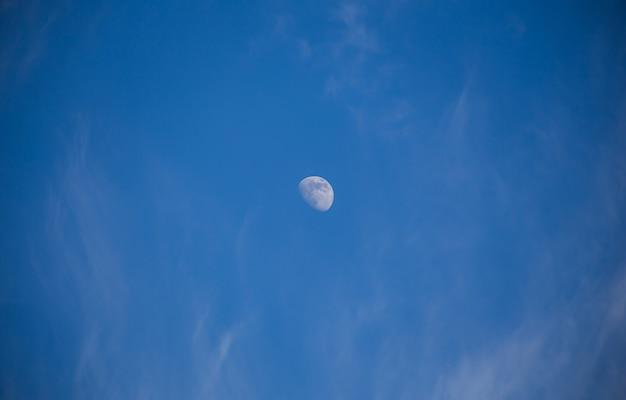 Geen volle maan aan de hemel