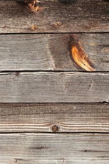 Gefotografeerd close-up deel van de muur gemaakt van planken,