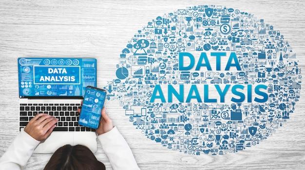 Gegevensanalyse voor bedrijven en financiën