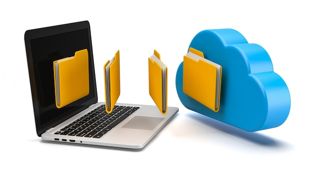 Gegevensoverdracht via cloud computing
