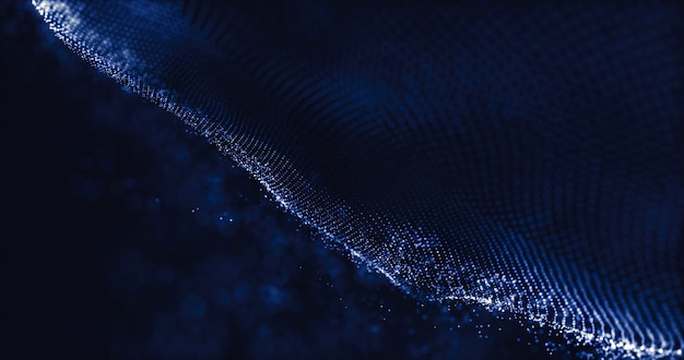 Gegevenstechnologie abstract futuristisch