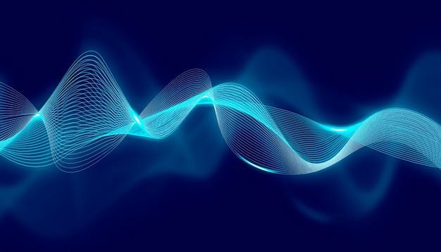Gegevenstechnologie abstracte futuristische achtergrond
