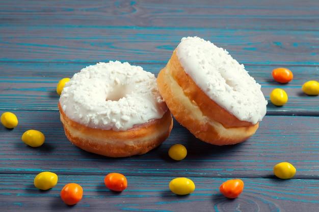 Geglazuurde donuts