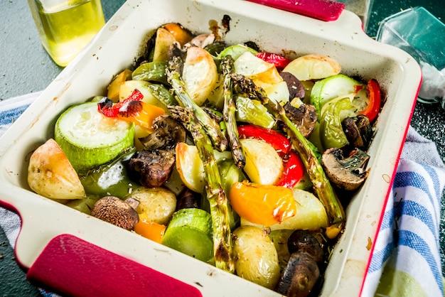 Gegrilde bbq-groenten