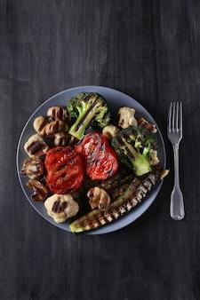 Gegrilde groentes