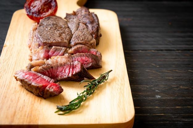Gegrilde medium zeldzame biefstuk