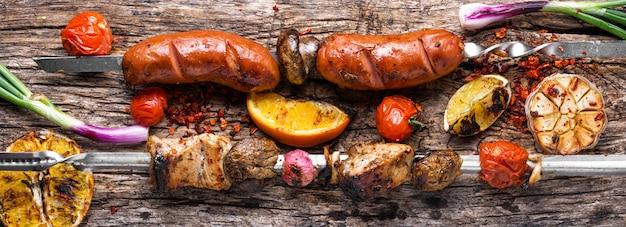 Gegrilde vleesgerechten