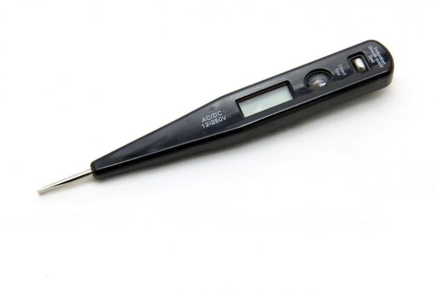 Geïsoleerd digitaal voltmeter