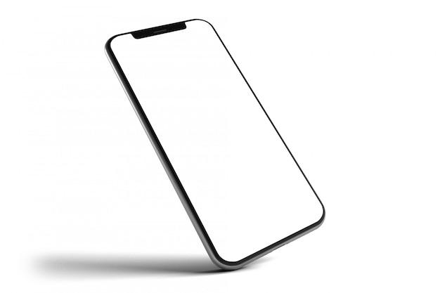 Geïsoleerd smartphone-model - het 3d teruggeven
