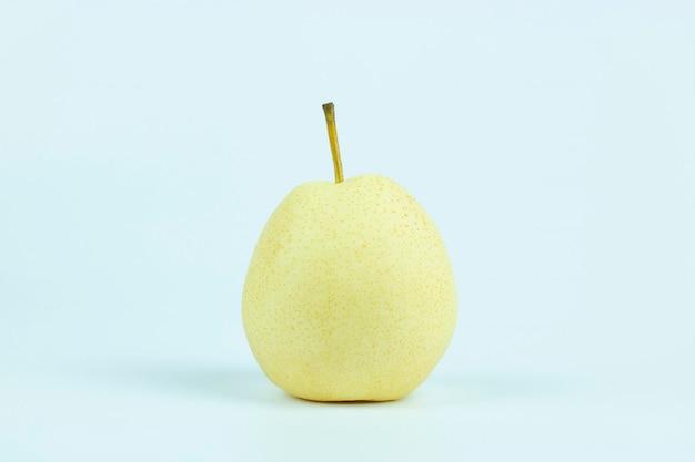 Geïsoleerde de perenfruit van pyruspyrifolia nashi