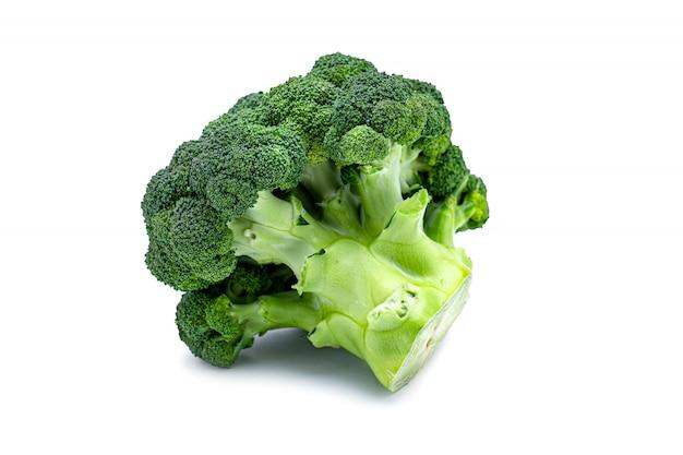 Geïsoleerde groene broccolikool