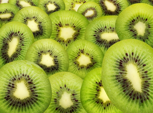 Geïsoleerde textuur van kiwi.