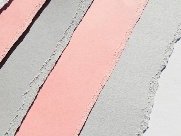 Gekleurd gescheurd papier